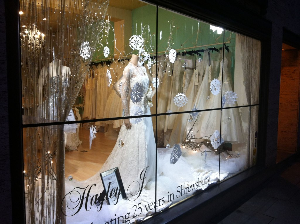 Wedding dress Shrewsbury